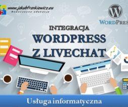 Integracja WordPress z livechat