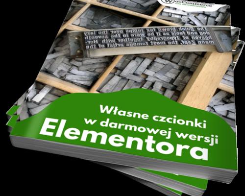 Własne czcionki w darmowej wersji Elementora