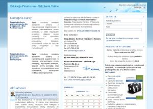 Platforma Moodle wdrożona dla firmy Accadia Group S.A.