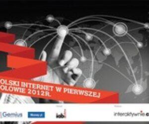 Jaki był polski Internet w pierwszej połowie 2012 roku?