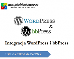 Integracja WordPress i bbPress