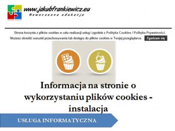 cookies jf - Jakub Frankiewicz - Nowoczesna Edukacja