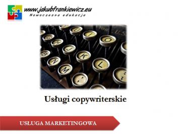 copywriter - Jakub Frankiewicz - Nowoczesna Edukacja
