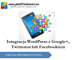 WordPress integracja z Social Media