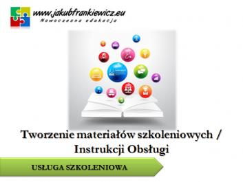 materialy szkoleniowe - Jakub Frankiewicz - Nowoczesna Edukacja