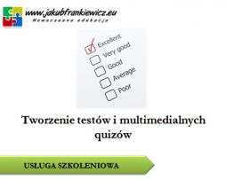 Tworzenie testów i multimedialnych quizów