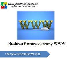 Budowa firmowej strony WWW
