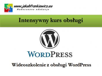 wordpress szkolenie jf - Jakub Frankiewicz - Nowoczesna Edukacja