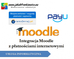 Integracja Moodle z płatnościami internetowymi