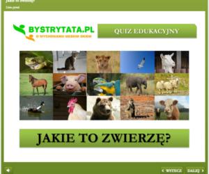 Jakie to zwierzę? ? Interaktywny quiz