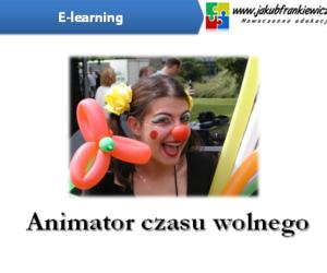 25% rabatu na e-learningowe szkolenie Animator Czasu Wolnego