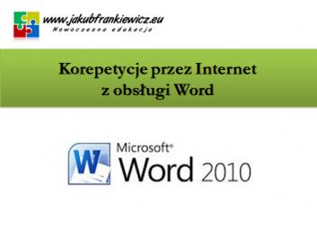 korepetycjeword kuba - Jakub Frankiewicz - Nowoczesna Edukacja