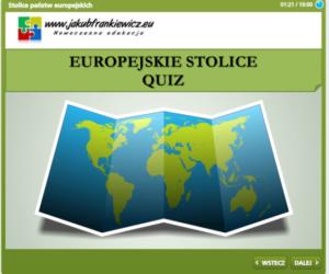 Europejskie stolice ? Interaktywny quiz