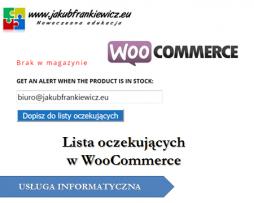 Lista oczekujących w WooCommerce