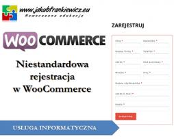 Niestandardowa rejestracja w WooCommerce