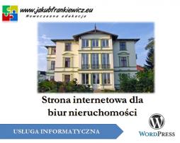 Strona internetowa dla biur nieruchomości