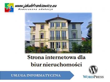 www nieruchomosci - Jakub Frankiewicz - Nowoczesna Edukacja