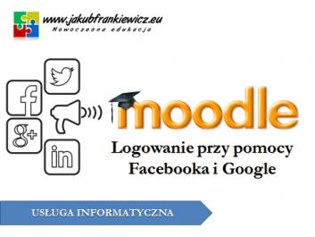 moodle social login - Jakub Frankiewicz - Nowoczesna Edukacja