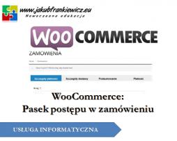 WooCommerce: Pasek postępu w zamówieniu