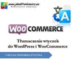 WooCommerce: Polskie tłumaczenia wtyczek