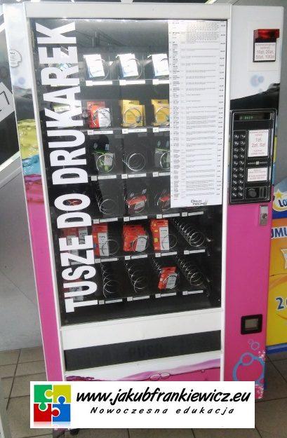 Tego jeszcze nie było: Automat sprzedający … tusze do drukarek