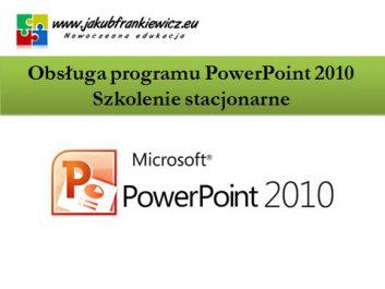 powerpoint stacjonarnie - Jakub Frankiewicz - Nowoczesna Edukacja