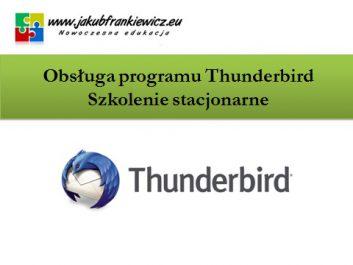 thunderbird stacjonarnie - Jakub Frankiewicz - Nowoczesna Edukacja