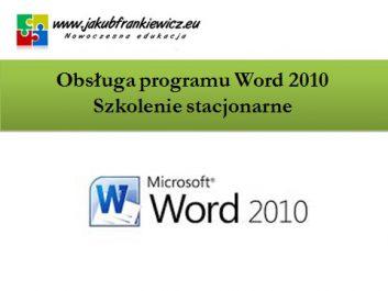 word stacjonarnie - Jakub Frankiewicz - Nowoczesna Edukacja