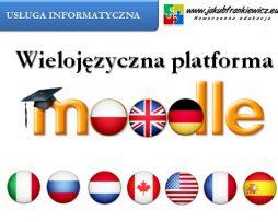Wielojęzyczna platforma Moodle