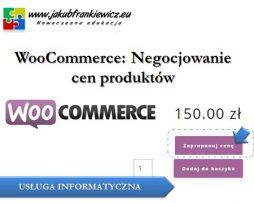 WooCommerce: Negocjowanie cen produktów