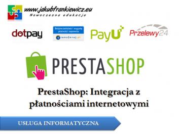 prestshop platnosci - Jakub Frankiewicz - Nowoczesna Edukacja
