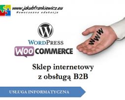 Sklep internetowy z obsługą B2B
