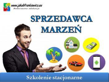 sprzedawca marzen - Jakub Frankiewicz - Nowoczesna Edukacja