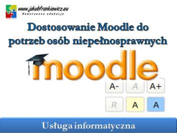 moodle niepelnosprawni - Jakub Frankiewicz - Nowoczesna Edukacja