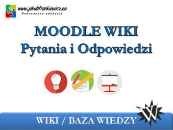 moodle wiki - Jakub Frankiewicz - Nowoczesna Edukacja