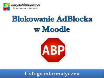 moodleadblock - Jakub Frankiewicz - Nowoczesna Edukacja