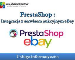 PrestaShop: Integracja z serwisem aukcyjnym eBay