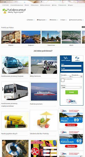 TuOdpoczne.pl – Nowy serwis turystyczny