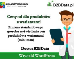 """Doctor B2BData – """"Ceny od"""" dla produktów z wariantami"""
