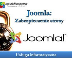 Joomla: Zabezpieczanie strony