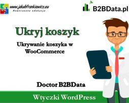 Doctor B2BData – Ukryj koszyk