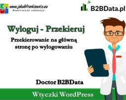 Doctor B2BData – Wyloguj/Przekieruj