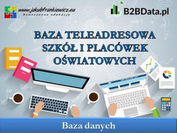 baza szkol - Jakub Frankiewicz - Nowoczesna Edukacja
