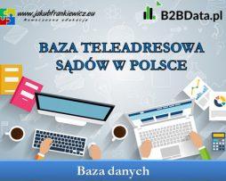 Baza teleadresowa sądów w Polsce