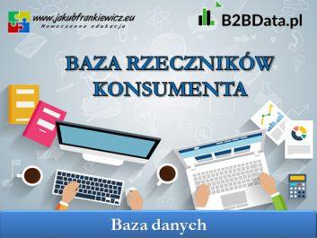 baza rzecznikow konsumentow - Jakub Frankiewicz - Nowoczesna Edukacja