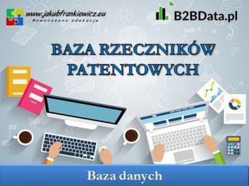 baza rzecznikow patentowych - Jakub Frankiewicz - Nowoczesna Edukacja