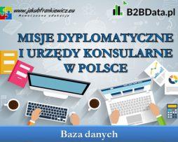 Misje dyplomatyczne i urzędy konsularne w Polsce