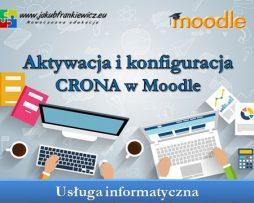 Aktywacja i konfiguracja CRONA w Moodle