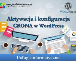 Aktywacja i konfiguracja CRONA w WordPress