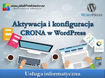 cron wordpress - Jakub Frankiewicz - Nowoczesna Edukacja